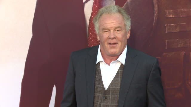 """nick nolte at the """"angel has fallen"""" world premiere on august 20, 2019 in los angeles, california. - nick nolte stock-videos und b-roll-filmmaterial"""