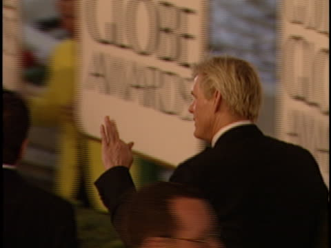nick nolte at the golden globes 2000 at beverly hilton. - nick nolte stock-videos und b-roll-filmmaterial