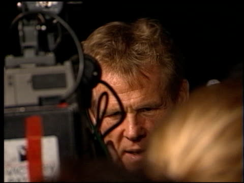 nick nolte at the 'kundun' premiere at avco cinema in westwood, california on december 15, 1997. - nick nolte stock-videos und b-roll-filmmaterial