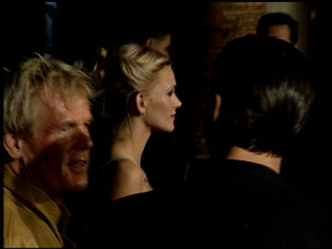 nick nolte at the 'simpatico' premiere at the egyptian theatre in hollywood, california on december 13, 1999. - nick nolte stock-videos und b-roll-filmmaterial