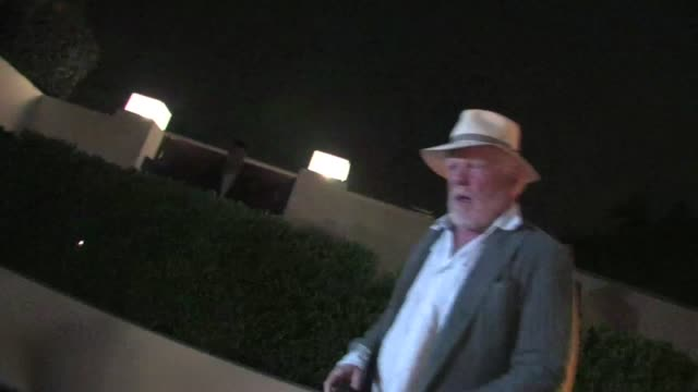 vídeos y material grabado en eventos de stock de nick nolte leaving bryan lourd pre oscar party in bel air ca 02/24/12 - oscar party