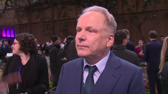 Nick Park on the cast audience reaction and becoming a masseur at BFI IMAX on January 14 2018 in London England