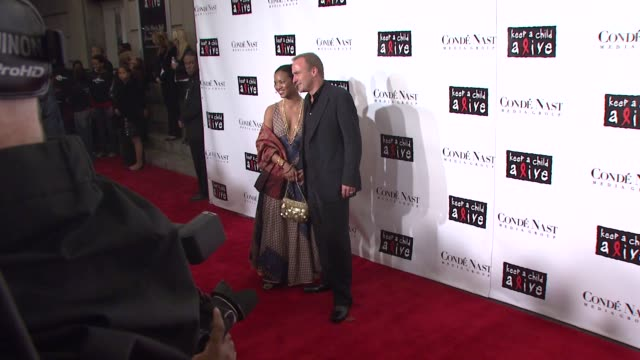 nick redding and guest at the conde nast media group presents the 4th annual 'black ball' concert for 'keep a child alive' arrivals at the... - conde nast media group stock videos & royalty-free footage