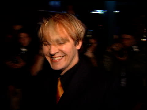 nick rhodes at the 1999 grammy awards bmg party at the shrine auditorium in los angeles california on february 24 1999 - nick rhodes stock videos & royalty-free footage