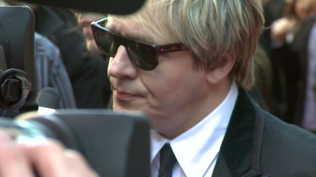 nick rhodes at the q awards at london england - nick rhodes stock videos & royalty-free footage