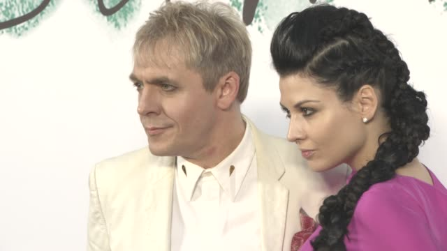 nick rhodes nefer suvio at the serpentine gallery summer party at the serpentine gallery on june 28 2017 in london england - nick rhodes stock videos & royalty-free footage
