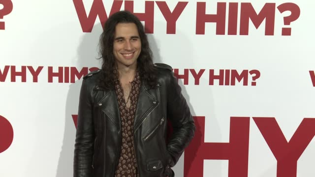 Nick Simmons at the Why Him World Premiere at Regency Bruin Theater on December 17 2016 in Westwood California