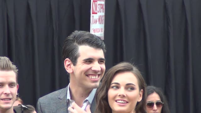 Nick Simmons Sophie Simmons greet fans at the Westwood Village Theatre in Westwood 07/11/13 Nick Simmons Sophie Simmons greet fans at the on July 11...