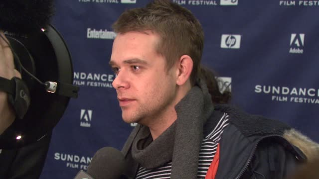 nick stahl at the 2008 sundance film festival premiere of 'sleepwalking' at the eccles theater in park city utah on january 22 2008 - stahl stock videos & royalty-free footage