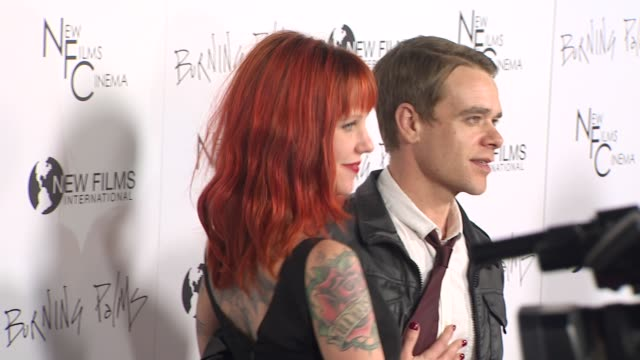 nick stahl at the 'burning palms' premiere at hollywood ca - stahl stock videos & royalty-free footage