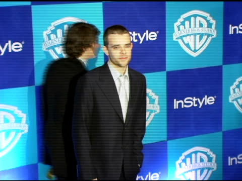 nick stahl at the instyle/warner brothers golden globes party at the beverly hilton in beverly hills california on january 16 2006 - stahl stock videos & royalty-free footage