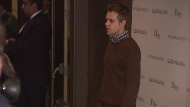 nick stahl at the premiere of sleepwalking at the tribeca grand screening room in new york new york on march 11 2008 - stahl stock videos & royalty-free footage
