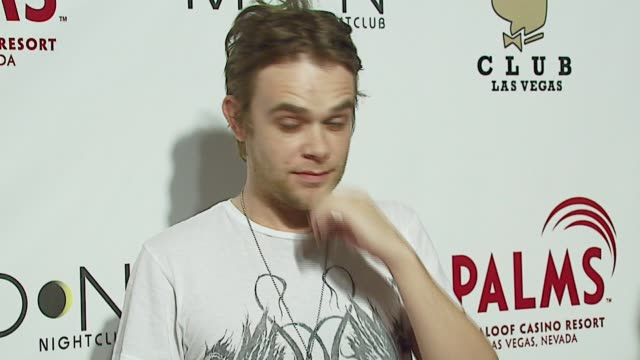 nick stahl at the the playboy club vip grand opening at the palms hotel and casino at the palms hotel casino in las vegas nevada on october 7 2006 - stahl stock videos & royalty-free footage