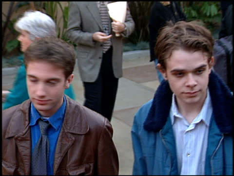 nick stahl at the 'this is my father' premiere at the egyptian theatre in hollywood california on may 3 1999 - stahl stock videos & royalty-free footage