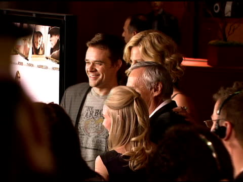 nick stahl charlize theron annasophia robb and dennis hopper at the 'sleepwalking' screening at directors guild of america in los angeles california... - stahl stock videos & royalty-free footage