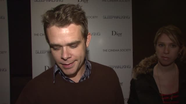 nick stahl talks about the story of the film how his character has problems but is still someone the audience could sympathize with how charlize... - stahl stock videos & royalty-free footage