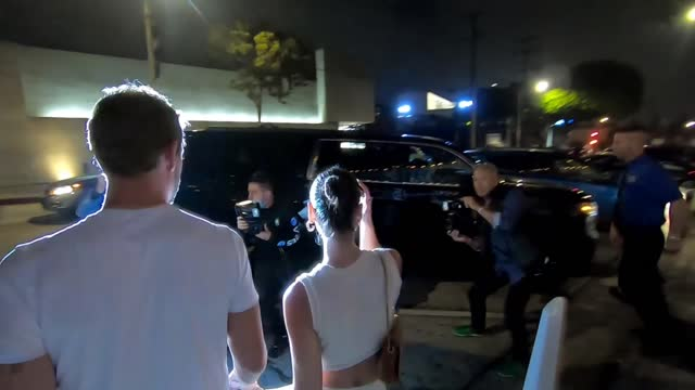 nick viall and natalie joy at craig's on august 31, 2021 in west hollywood, california. - west hollywood stock-videos und b-roll-filmmaterial