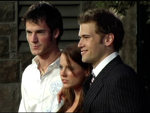 nick zano at the rock the vote at warner brothers in burbank, california on september 29, 2004. - rock the vote stock-videos und b-roll-filmmaterial