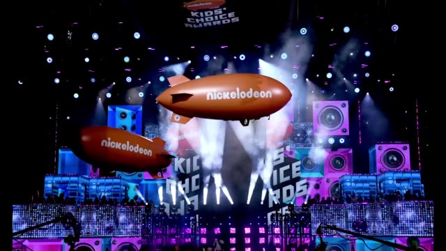 nickelodeon's 2019 kids' choice awards at galen center on march 23, 2019 in los angeles, california. - nickelodeon stock videos & royalty-free footage