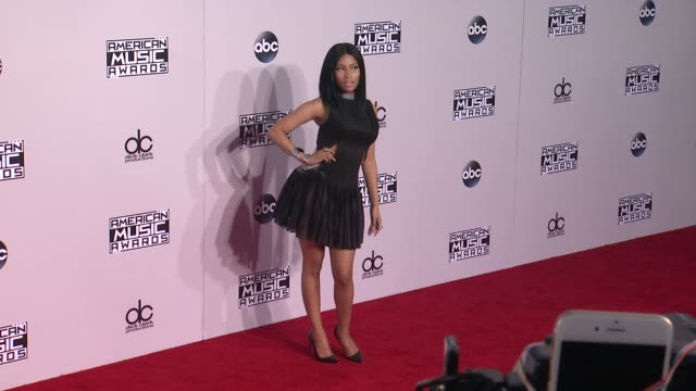 nicki minaj at the 2014 american music awards at nokia theatre la live on november 23 2014 in los angeles california - american music awards stock videos and b-roll footage