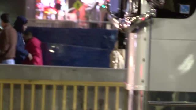 Nicki Minaj Safaree Samuels with Entourage enter Jay Z Magna Carter Concert at Staples LA in Hollywood Celebrity Sightings in Los Angeles CA on...