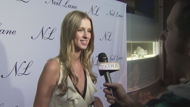 Nicky Hilton at the Neil Lane Jewelry opens flagship store at Los Angeles CA