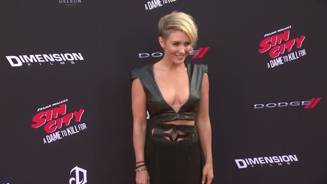 Nicky Whelan at Sin City A Dame To Kill For Los Angeles Premiere at TCL Chinese Theatre on August 19 2014 in Hollywood California