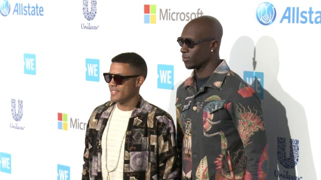 nico and vinz at we day california at the forum on april 07 2016 in inglewood california - inglewood stock videos and b-roll footage