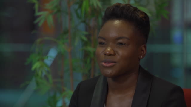 nicola adams saying she had fun acting in small roles before and hopes to do more now she has retired from boxing - eyesight stock videos & royalty-free footage