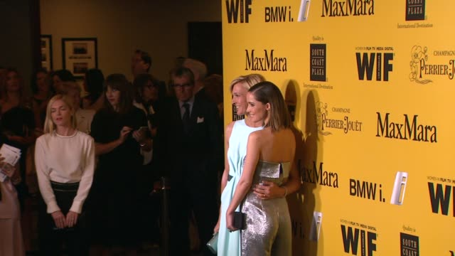 stockvideo's en b-roll-footage met nicola maramotti and rose byrne at the 2014 women in film crystal lucy awards presented by max mara bmw perrierjouet and south coast plaza at the... - century plaza
