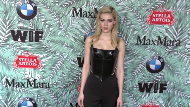 nicola peltz at 10th annual women in film pre-oscar cocktail party presented by max mara and bmw at nightingale plaza on february 24, 2017 in los... - nightingale stock videos & royalty-free footage