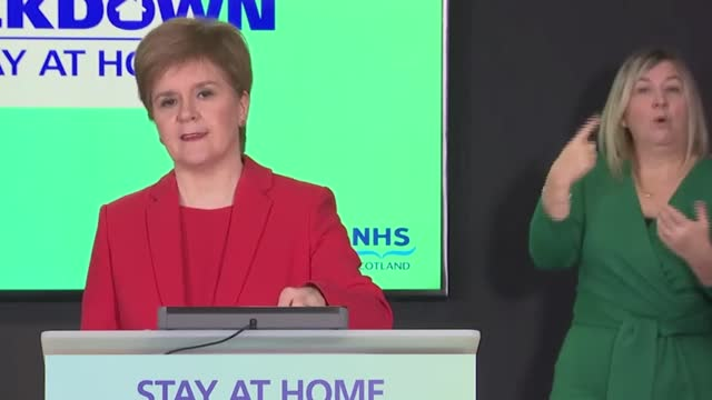 nicola sturgeon coronavirus update for scotland. today, the first minister updates the public on the status of the vaccination programme and advises... - nicola sturgeon stock videos & royalty-free footage