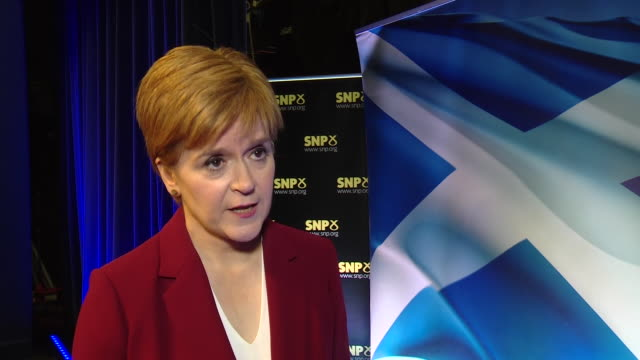 nicola sturgeon praising the emergency services and saying her thoughts are with everyone affected by the london bridge terror attacks - mass murder stock videos & royalty-free footage
