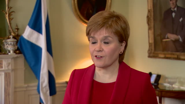 nicola sturgeon saying that the women who brought forward sexual harassment complaints against alex salmond would have expected a robust process... - women politics stock videos & royalty-free footage