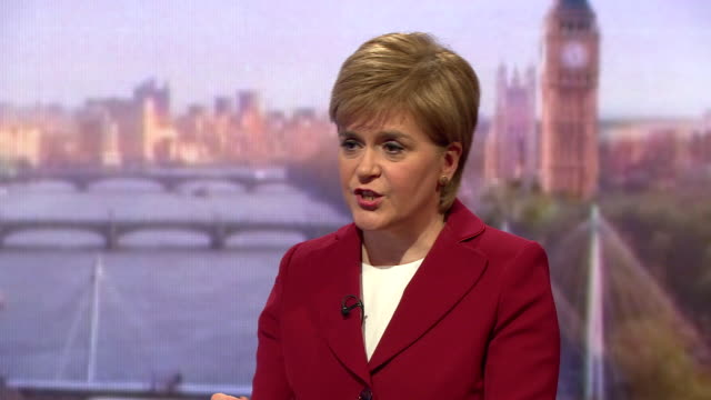nicola sturgeon saying the scottish government has done more than any other government in the uk to protect the pay of nurses - scottish national party stock videos & royalty-free footage