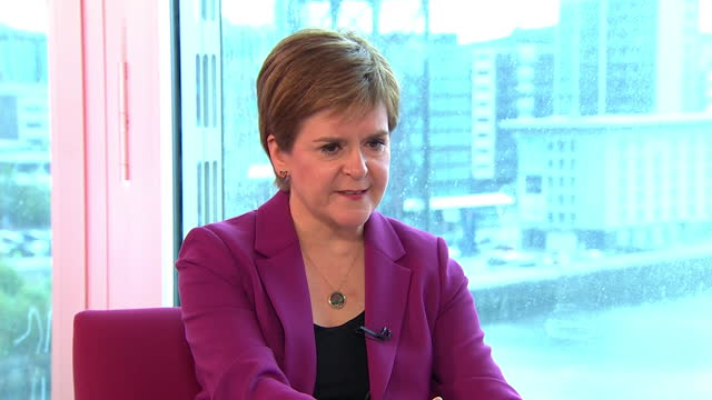 nicola sturgeon saying the snp would publish a white paper detailing the challenges of scottish independence before a second referendum - challenge stock videos & royalty-free footage