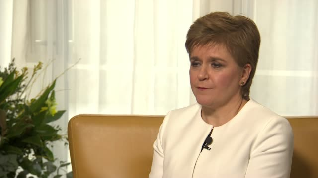 Nicola Sturgeon sets out timescale for second independence referendum as SNP conference prepares to debate a future currency UK Scotland Edinburgh...