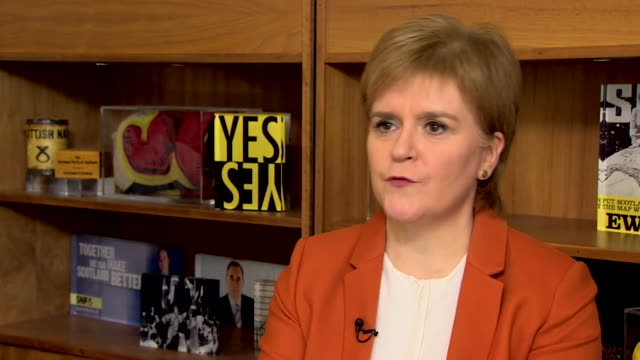 Nicola Sturgeon talks about a single currency for Scotland