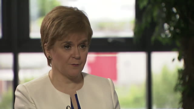 Nicola Sturgeon talks about inspiring people toward Scottish independence