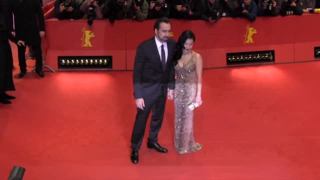 nicolas cage and alice kim at 'the croods' premiere bmw at the 63rd berlinale international film festival nicolas cage and alice kim at 'the croods'... - nicolas cage stock videos & royalty-free footage