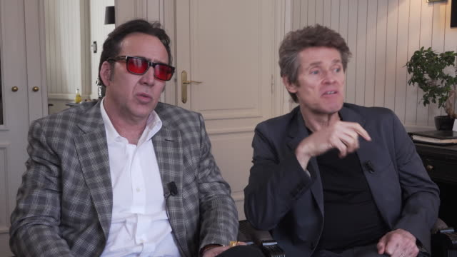 Nicolas Cage and Willem Dafoe about working with Paul Schrader and the roles they play in the movie They also talk about their admiration for Prince...