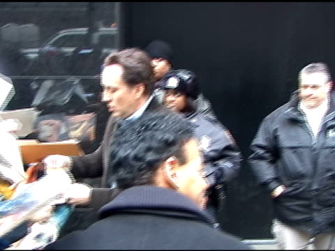 nicolas cage at good morning america at the celebrity sightings in new york at new york ny. - nicolas cage stock videos & royalty-free footage