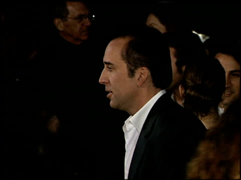 nicolas cage at the 'adaptation' premiere on december 3 2002 - nicolas cage stock videos & royalty-free footage