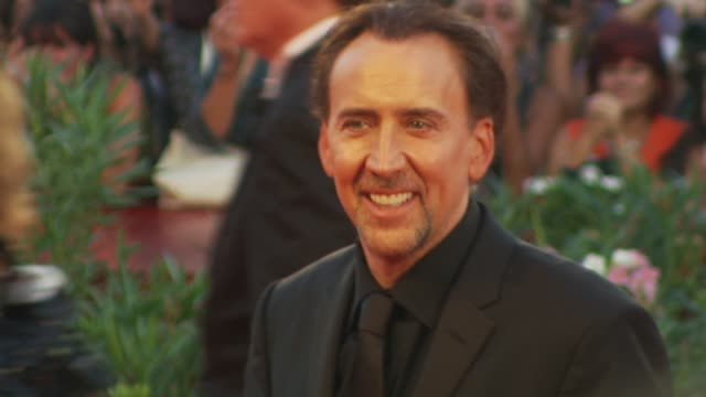 port of call new orleans venice film festival 2009 at venice - nicolas cage stock videos & royalty-free footage