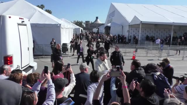 nicolas cage at the film independent spirit awards in santa monica at celebrity sightings in los angeles on february 08, 2020 in los angeles,... - nicolas cage stock videos & royalty-free footage