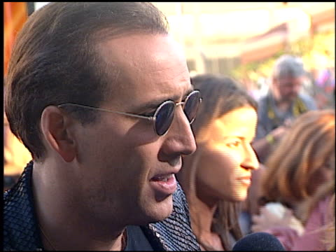 nicolas cage at the 'gone in 60 seconds' premiere on june 6 2000 - nicolas cage stock videos & royalty-free footage