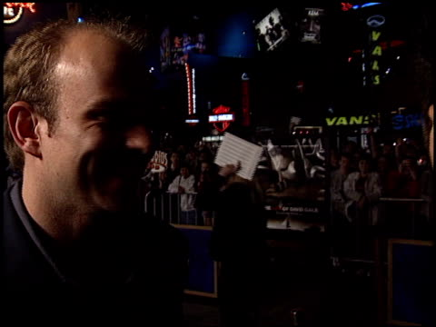 nicolas cage at the premiere of 'the life of david gale' at universal citywalk cinema in universal city california on february 18 2003 - nicolas cage stock videos & royalty-free footage
