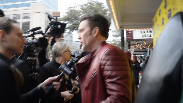 Nicolas Cage attends the premiere of Joe at 2014 SXSW Music Film Interactive Festival at The Paramount Theater on March 09 2014 in Austin Texas