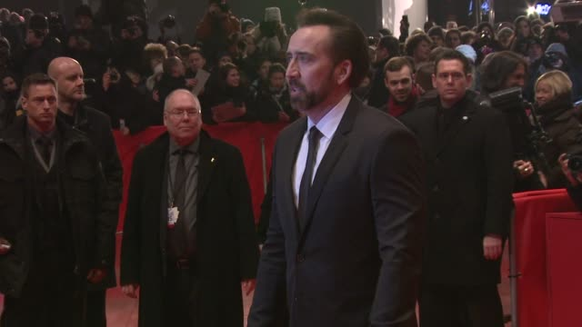 interview nicolas cage on his character and loving the flintstones the croods premiere 63rd berlinale international film festival at berlinale palast... - nicolas cage stock videos & royalty-free footage