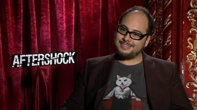 INTERVIEW Nicolas Lopez on working with Eli Roth at the 'Aftershock' Los Angeles Press Junket INTERVIEW Nicolas Lopez on working with Eli Roth at The...